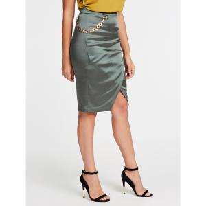 FUEGO SATIN SKIRT logo