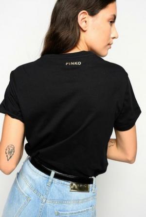 EDGARDO T-SHIRT BLACK zwart