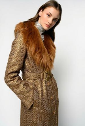 Meteora cappotto tweed