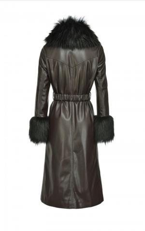 Stagione cappotto Brown