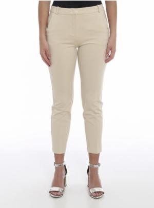 Bello pantalone punto Beige/quicksand