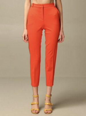 Bello pantalone punto Fiery Red