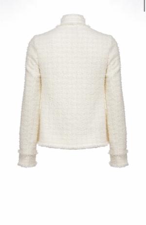 Immortale Giacca Tweed White+White