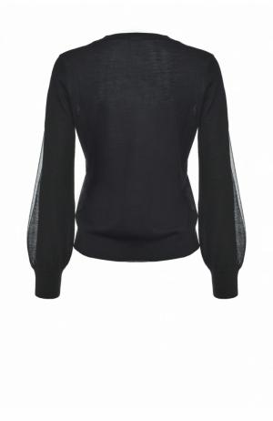 Sumo maglia intarsio lana Black