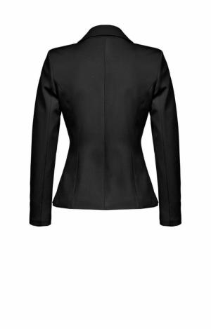 Erudito giacca punto stoffa Black