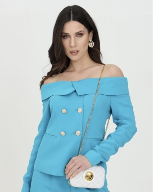 Distratto giacca Capri blue